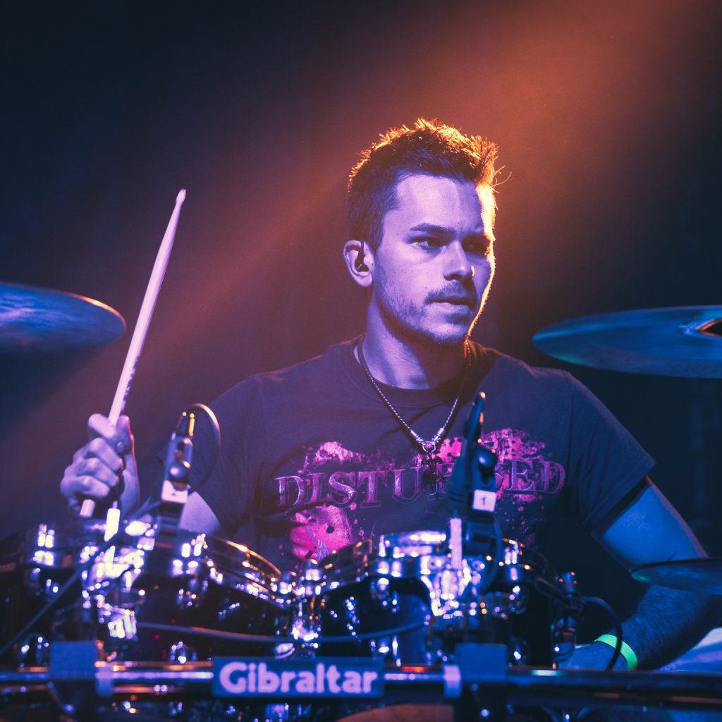 DbE Drummer Alex Wolf live