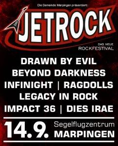 Jetrock Festival Marpingen mit Drawn by Evil Show