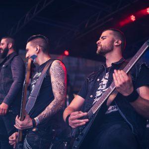 Metal Band live