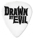 Guitarpick Drawn by Evil Nologo Picks