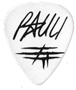 Guitarpick Drawn by Evil Christian Pauli Custom