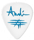 Guitarpick Drawn by Evil Andreas Bieder Custom