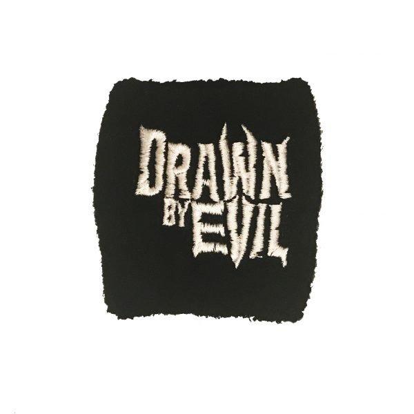 Schweißband mit Drawn by Evil Logo